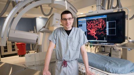 Dr. Kimon Bekelis at Good Samaritan Hospital in