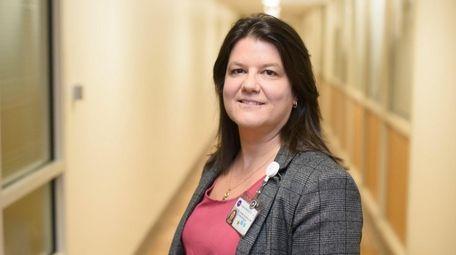 Lizanne Velapoldi, a nurse at NYU-Langone's Tisch Hospital