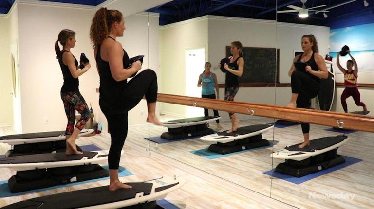 Long Island's offbeat fitness classes can help lighten