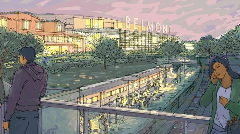 A rendering shows the proposed new arena at