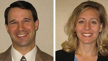 John Deleso and Kristin DeJesus of NEFCU