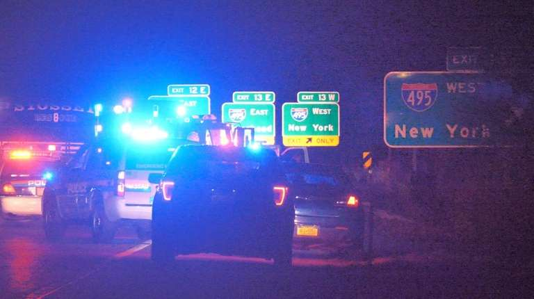 One man died in a crash Wednesday evening