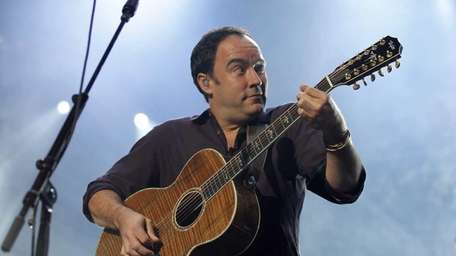 The Dave Matthews Band performs at the Nassau