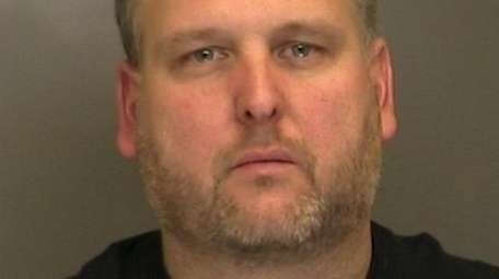 Christopher Evans, of Islip, was charged with two