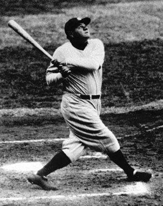 1. BABE RUTHRight field, 1920-34If he wasn?t the