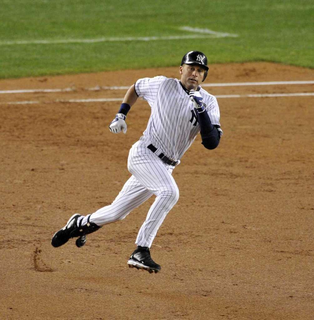 Shortstop, 1995-2014Captain of the Yankees, the face of