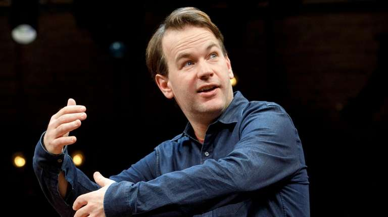 "Mike Birbiglia, star of the one-man show ""The"