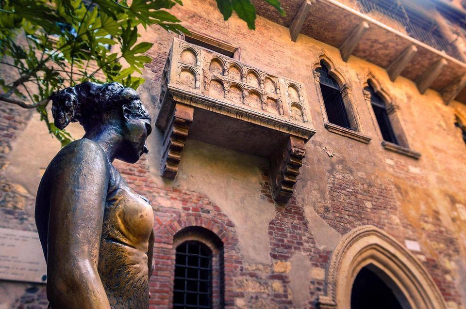 Verona, an Italian city 75 miles west of