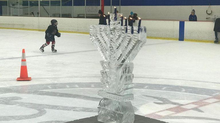 Long Islanders can celebrate Hanukkah on Ice at