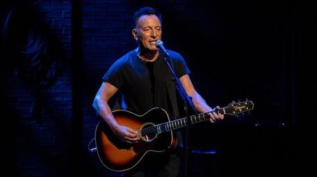 "Netflix is airing a filmed version of ""Springsteen"