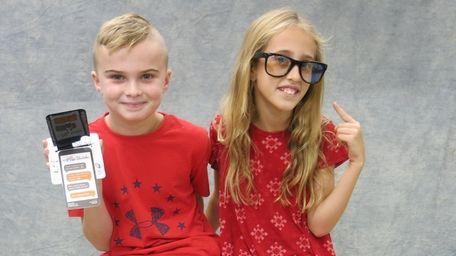 Kidsday reporters Bryson Brunert and Ava Bulanowski tested