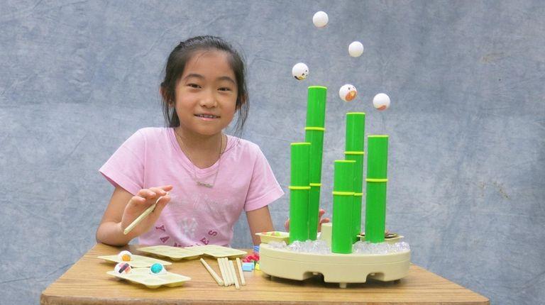 Kidsday reporter Amanda Lam tested Flying Sushi Kitchen.