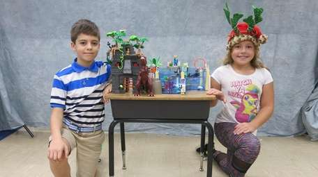 Kidsday reporters Ian Loring and Mia Milnes tested
