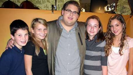 Actor Jonah Hill, who stars in the movie
