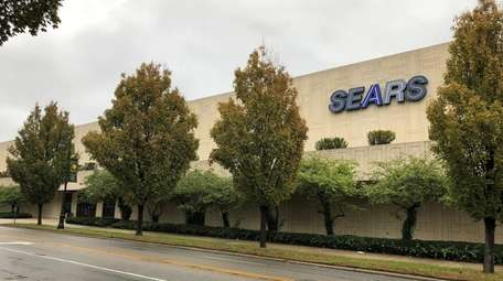 The Sears store at 11 Franklin Ave. in