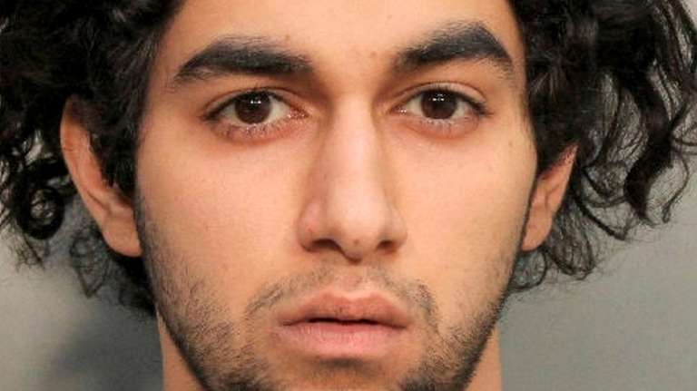 Areefeen Hirji, of Muttontown, one of two men
