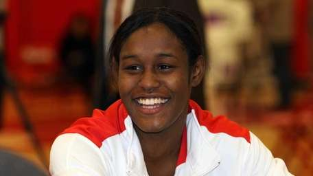 Coco Hart is one of the seniors on