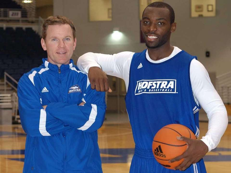 New Hofstra men's basketball coach Mo Cassara with