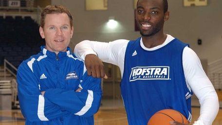 New Hofstra men's basketball coach Mo Cassara with