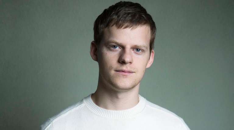 Lucas Hedges in Manhattan to promote his new
