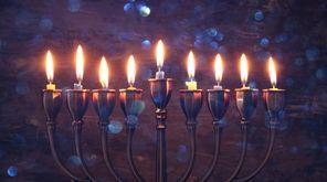 Lighting the Hanukkah menorah is a tradition intended