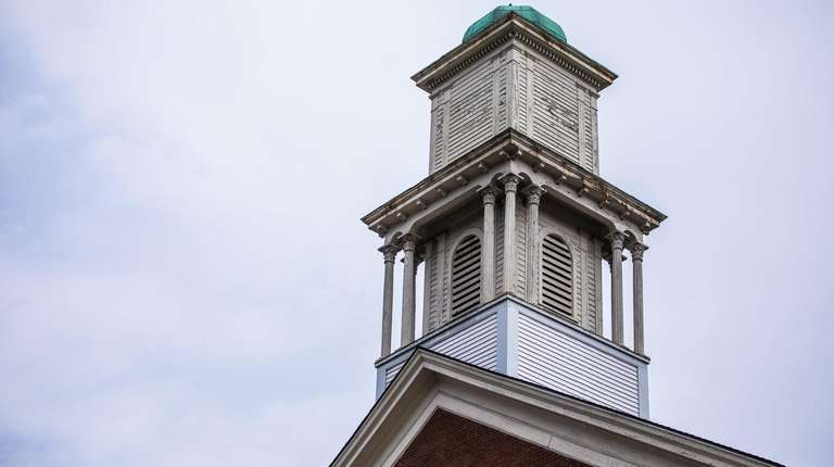 The bell tower at St. Paul's United Methodist