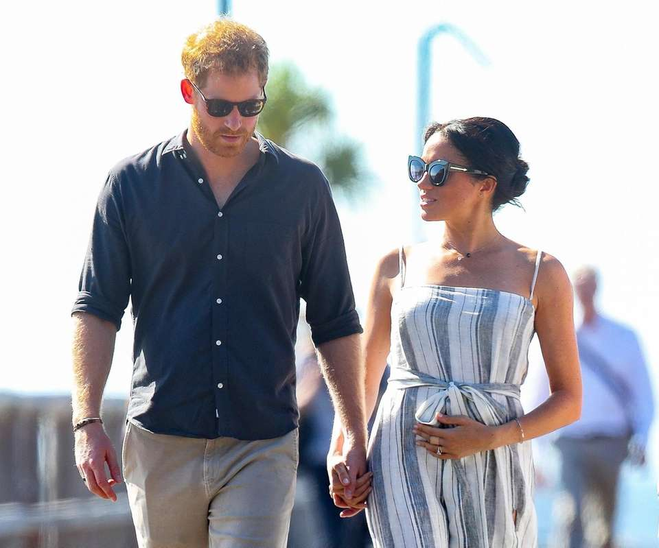 Prince Harry and Duchess of Sussex Meghan Markle