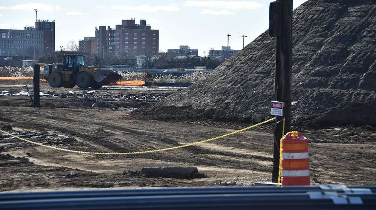 Contaminated soil and groundwater have been found at