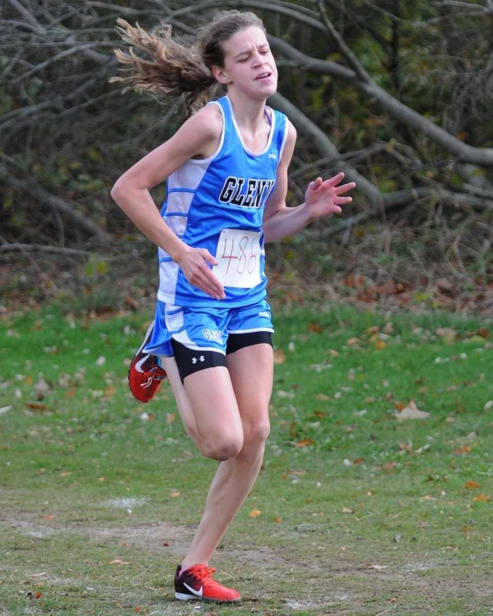 Glenn High School freshman Sarah Hardie wins the