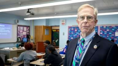 James Hunderfund, superintendent of the Malverne school district,