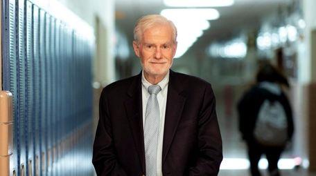 William Johnson, superintendent of the Rockville Centre school