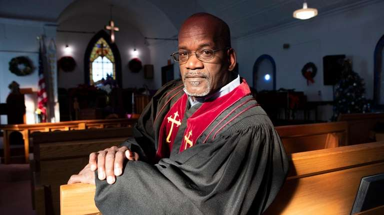 The Rev. Larry Jennings Sr., pastor of Bethel