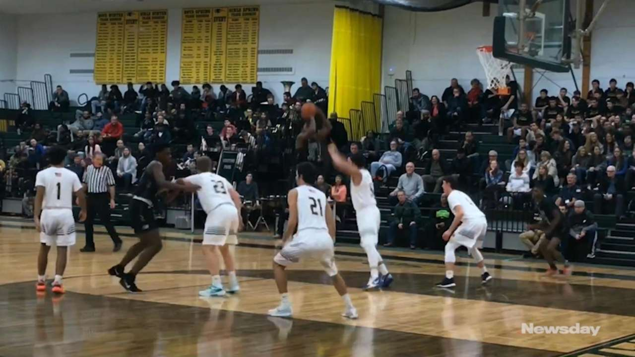 Brentwood defeated Ward Melville, 65-55, in a Suffolk