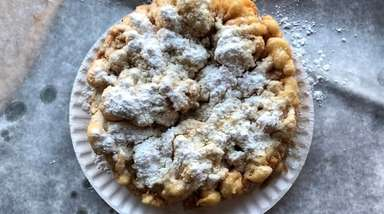 Funnel cakes are one of the foundational dishes