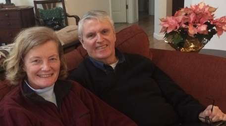 William Hempfling and Erna Alant of Manorville in