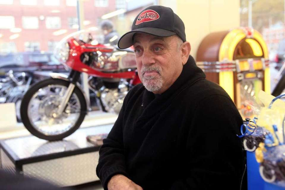 Billy Joel hosted a party in his new