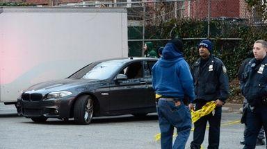 An FBI agent was shot in Canarsie, Brooklyn,