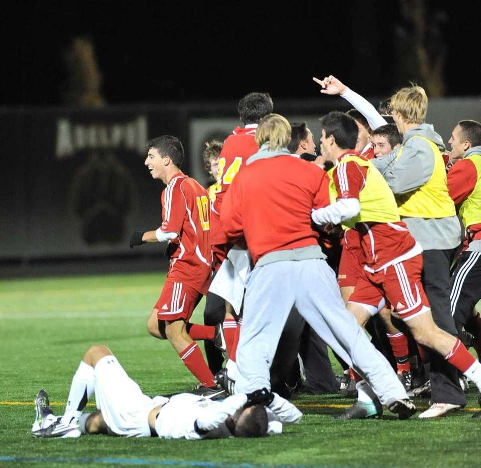 Chaminade's Boys Soccer team takes the field in