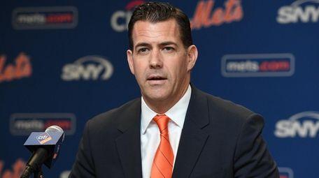 New York Mets general manager Brodie Van Wagenen