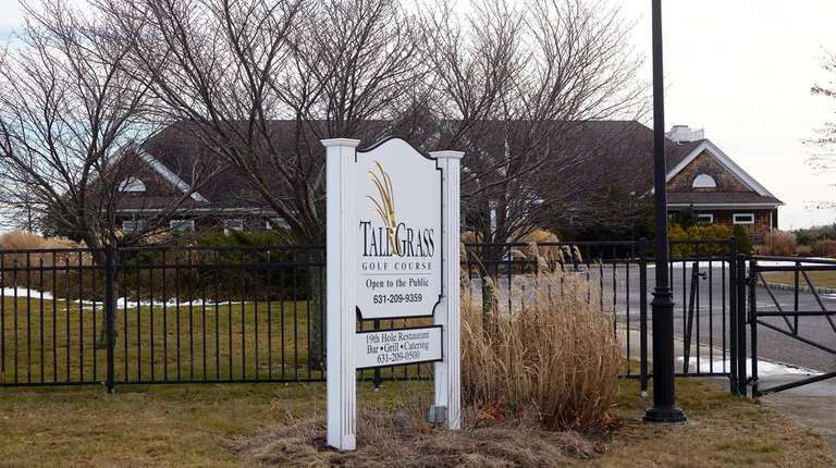 Plans are to turn Tallgrass Golf Course in