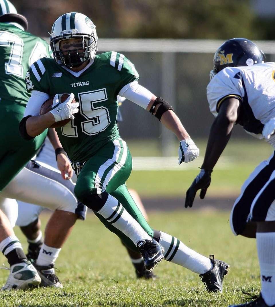 Holy Trinity's Louis Cotrone finds an opening in