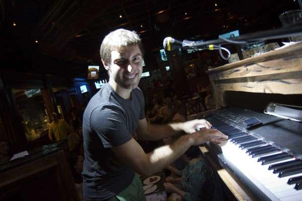 "Rob Kovak is one of the ""dueling"" pianists"