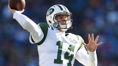 Jets quarterback Sam Darnold led touchdown drives of