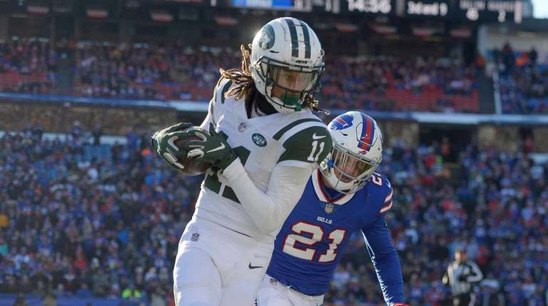 2e83e81f405 Robby Anderson's big catches fuel Jets' comeback | Newsday