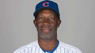 Chili Davis poses during photo day during spring