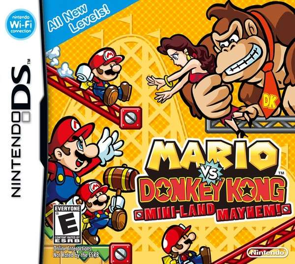 Mario vs. Donkey Kong: Mini-Land Mayhem: Donkey Kong