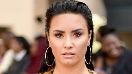 Demi Lovato attends the Billboard Music Awards on