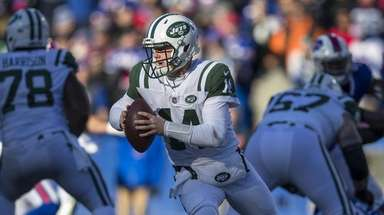 Sam Darnold #14 of the New York Jets