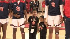 On Sunday, St. John's womens basketball honored King