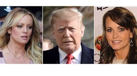 President Donald Trump said payments to porn star